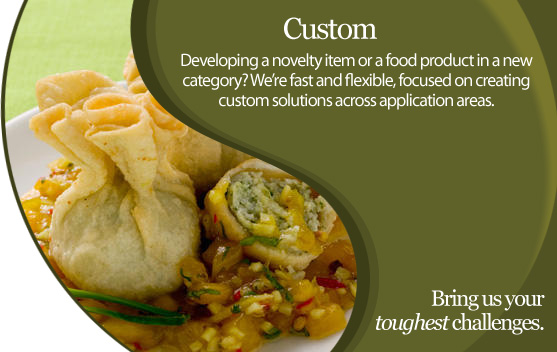 Advanced Food Systems Custom Applications