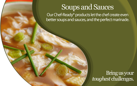 Advanced Food Systems Soups and Sauces Applications
