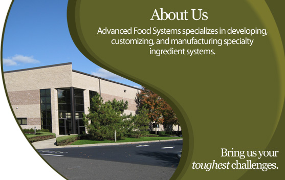 Advanced Food Systems - About Us